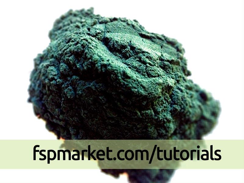 جلبک دریایی سبز آبی