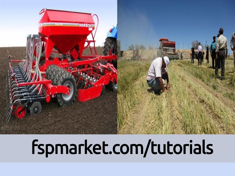 دستگاه مستقیم کاشت بذر